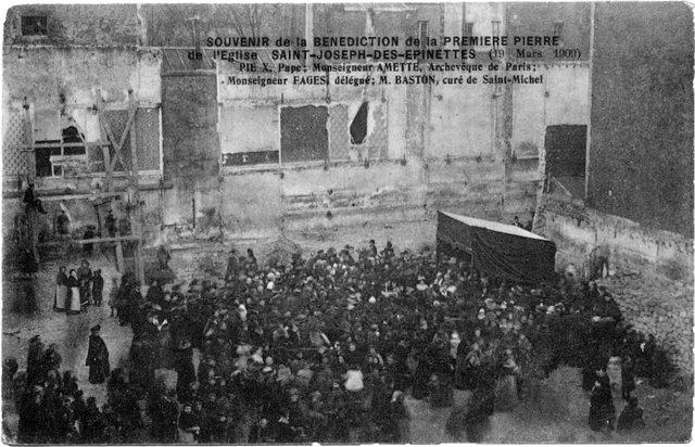1909 1ère pierre