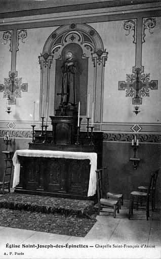 1909 chapelle st francois