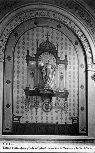 1909 mur de droite (Sacre Coeur)
