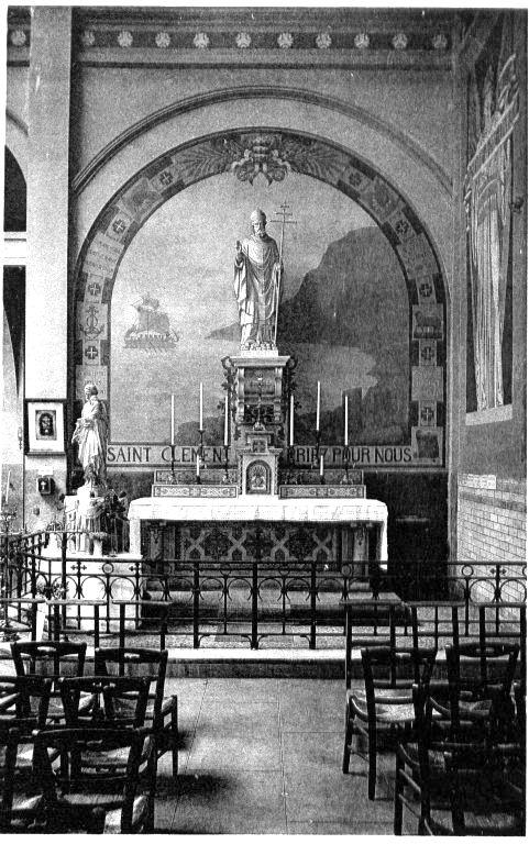 Autel de droite (St Clement)