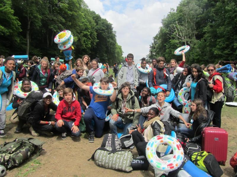 2015 Rassemblement des aumôneries à Lourdes -(Frat)
