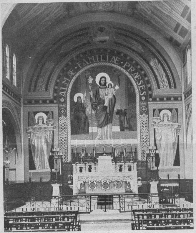 Le chœur après 1935